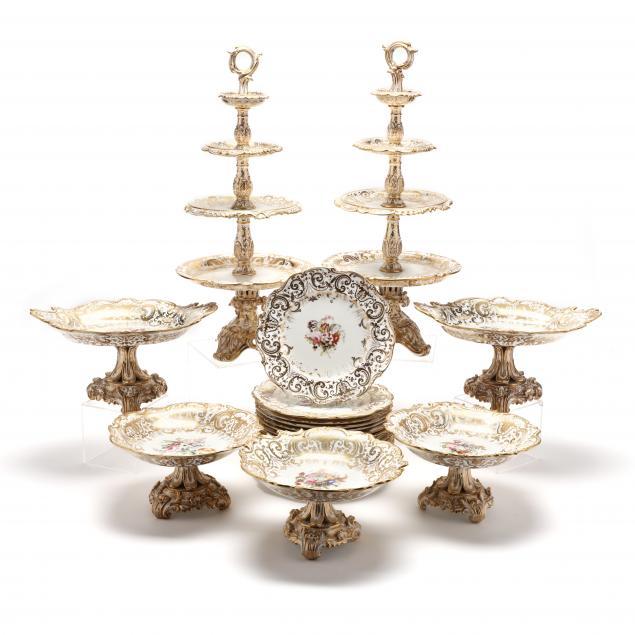 24-piece-set-of-antique-coalport-feldspar-porcelain-dessert-service