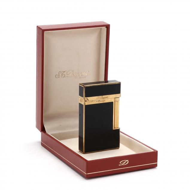 st-dupont-gold-plated-lighter