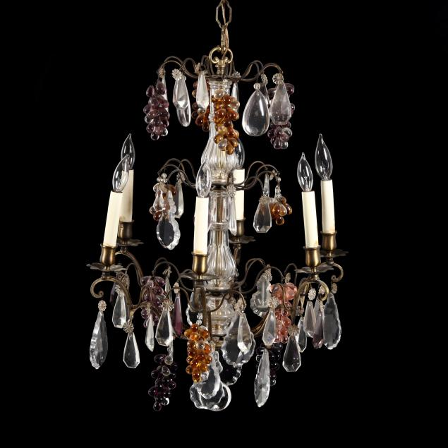 rococo-style-drop-prism-and-fruit-chandelier