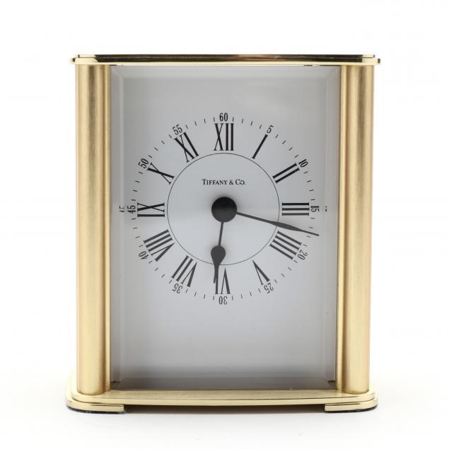tiffany-co-brass-desk-clock