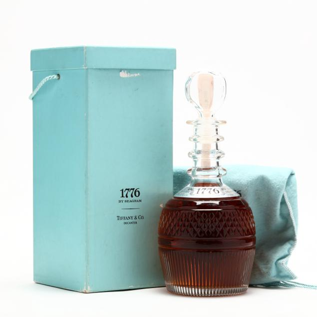 1776-whiskey-by-seagram-with-tiffany-decanter