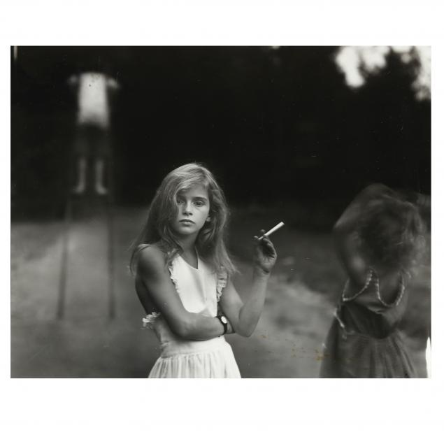 sally-mann-american-born-1951-preparatory-photograph-for-i-candy-cigarette-i-with-hand-written-inscription