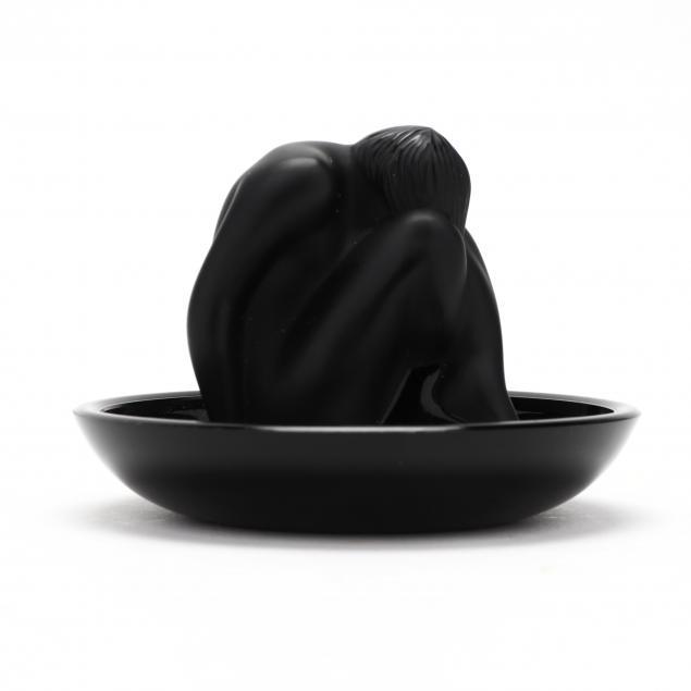 lalique-statuette-nu-assis-noir-crystal-11918