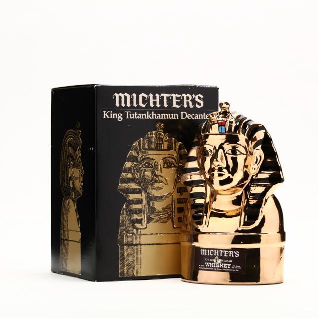 michter-s-whiskey-in-king-tutankhamun-decanter