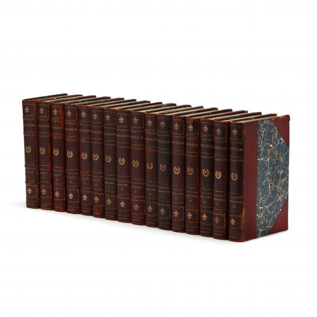 sixteen-volumes-pertaining-to-napoleon-bonaparte