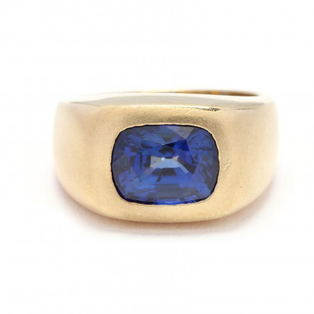 gent-s-18kt-gold-and-sapphire-ring