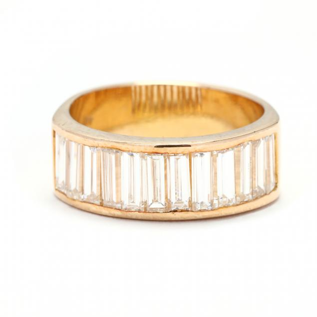 14kt-gold-and-baguette-cut-diamond-band