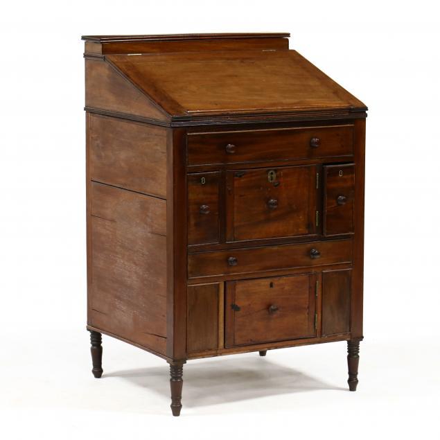 an-unusual-english-sheraton-mahogany-gentleman-s-dressing-cabinet
