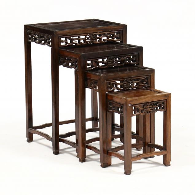set-of-four-chinese-hardwood-nesting-tables