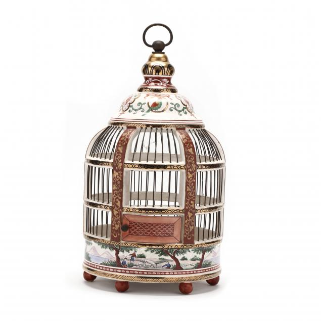 french-faience-porcelain-birdcage