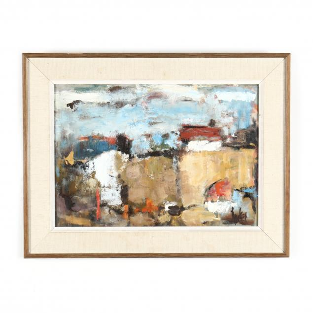 vintage-abstract-landscape-painting