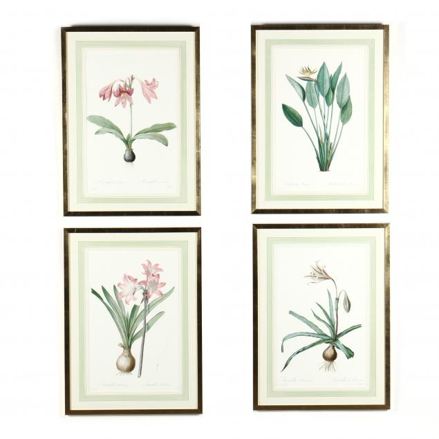 group-of-four-framed-botanical-prints-after-redoute