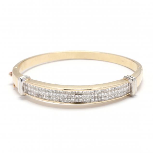 bi-color-gold-and-diamond-bangle-bracelet