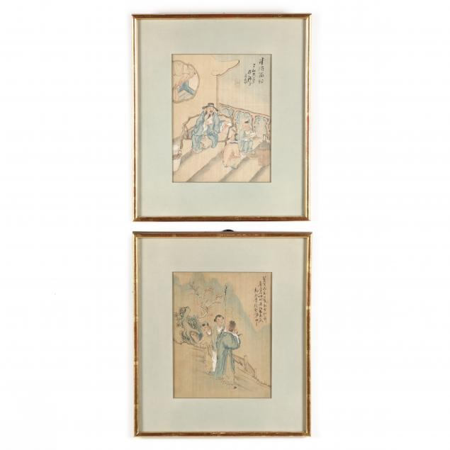 a-pair-of-chinese-paintings-on-silk