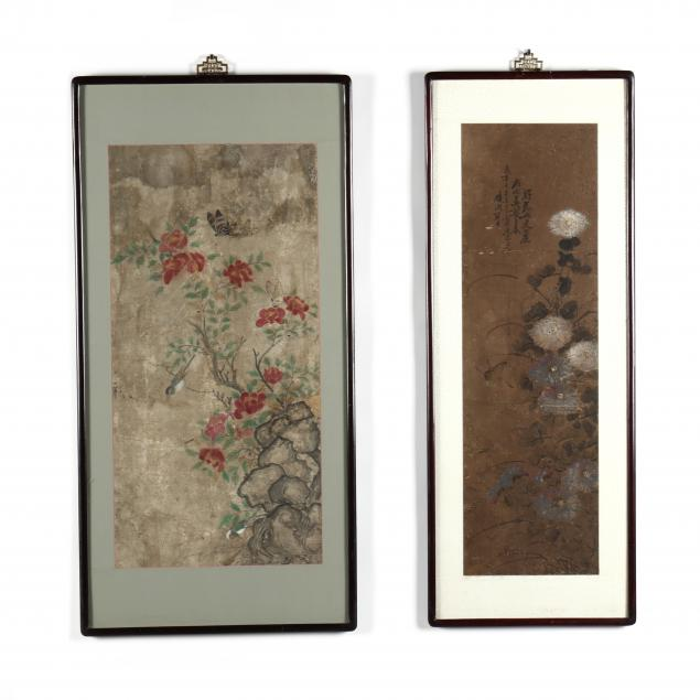 two-antique-korean-paintings