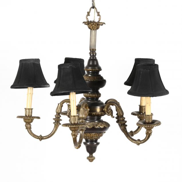 neoclassical-style-brass-chandelier