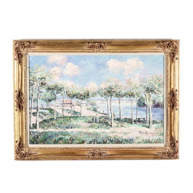 john-clymer-british-b-1932-springtime-landscape-with-river