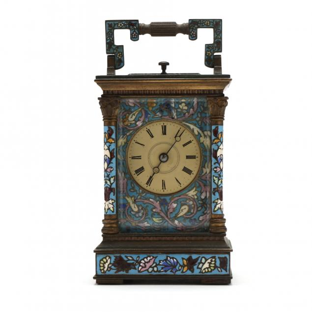 vintage-french-cloisonne-carriage-clock