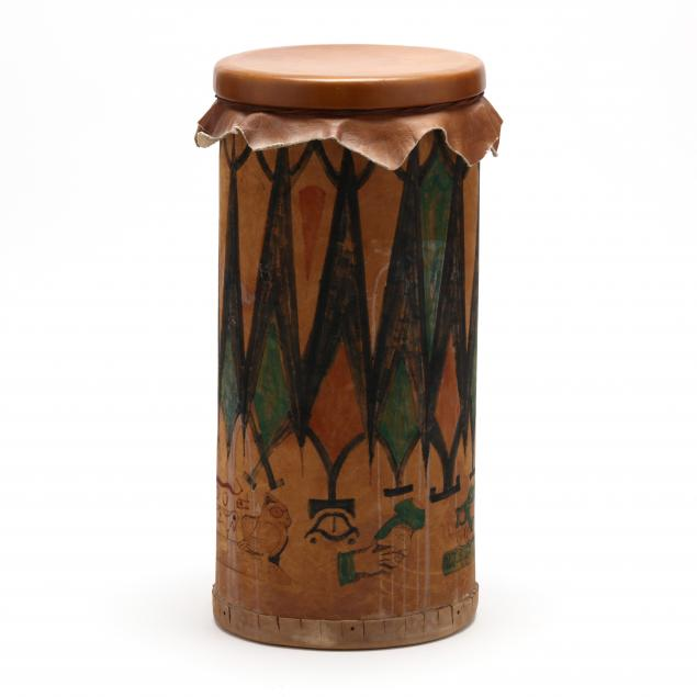 john-julius-wilnoty-nc-1940-2016-native-american-cylindrical-drum