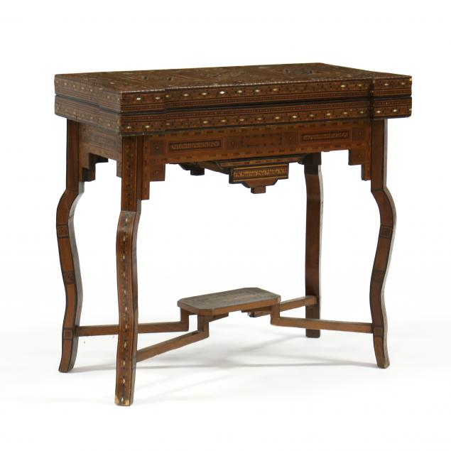 anglo-indian-inlaid-games-table