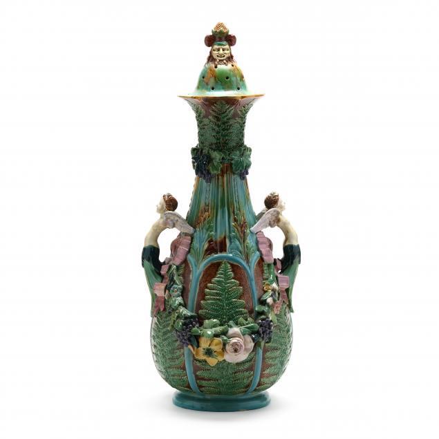 large-antique-lidded-majolica-urn