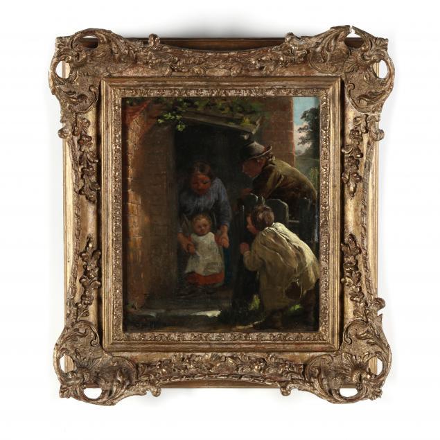 thomas-webster-british-1800-1886-first-steps