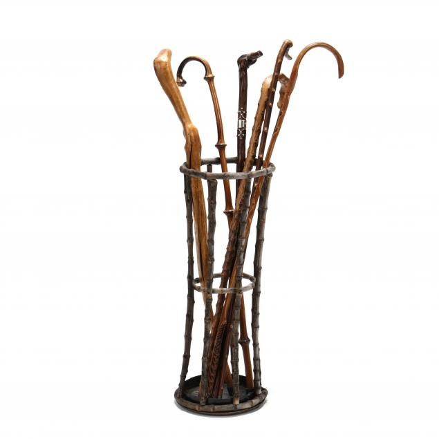 a-collection-of-vintage-antique-canes