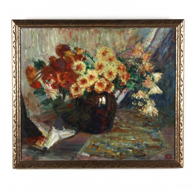 american-school-early-20th-century-still-life-with-flowers