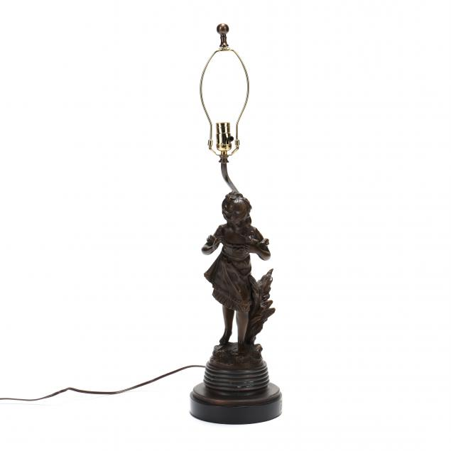 after-auguste-moreau-french-1855-1919-figural-bronze-table-lamp