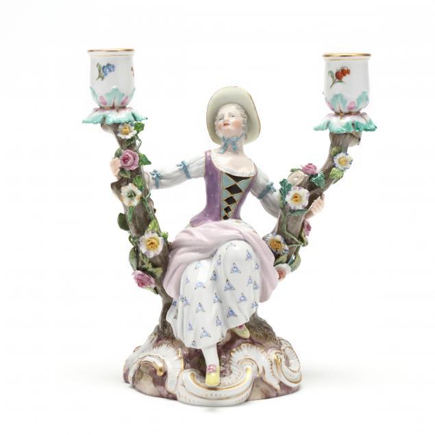 meissen-figural-candleholder