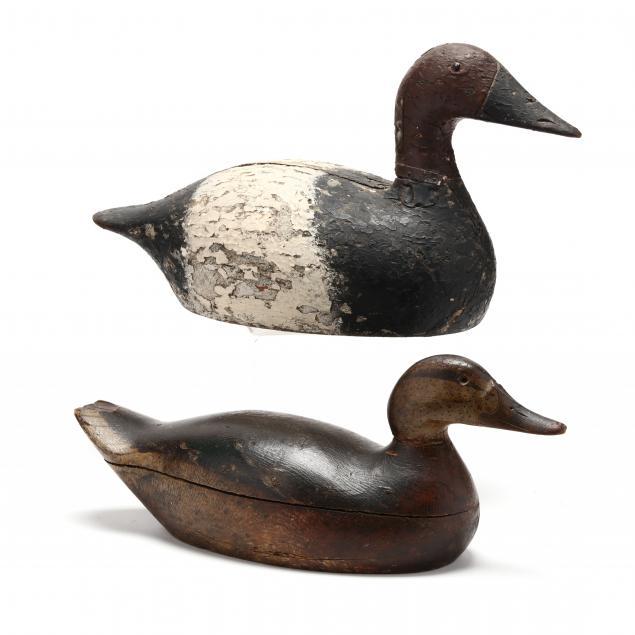 two-antique-duck-decoys