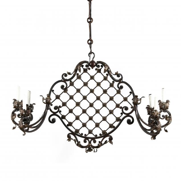 louis-xvi-style-iron-and-brass-chandelier
