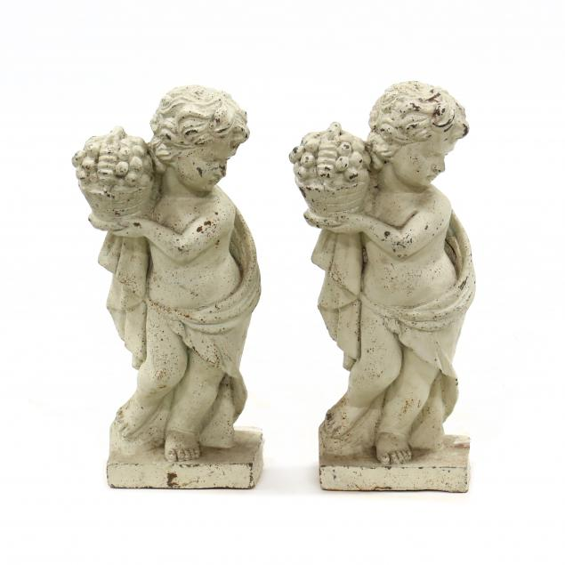 pair-of-vintage-cast-iron-classical-style-figures