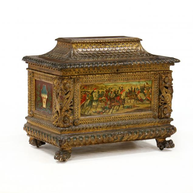 diminutive-italian-carved-and-painted-cassone