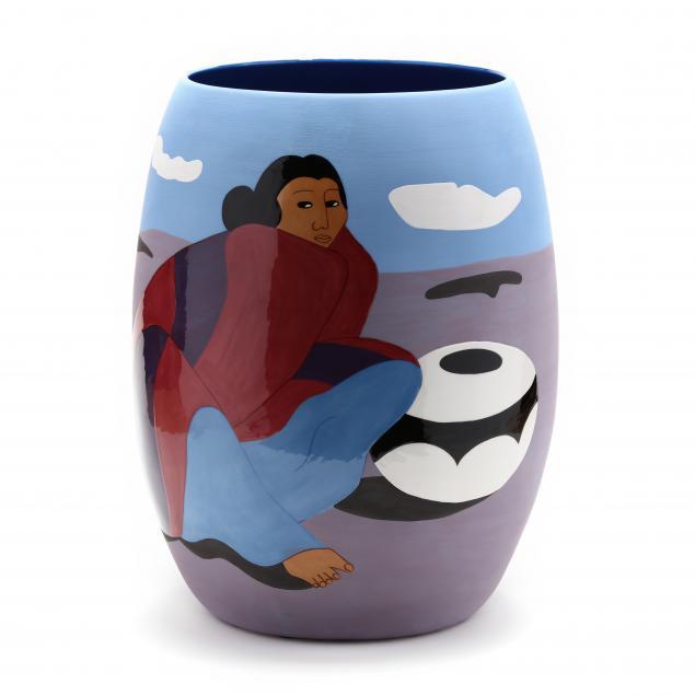 r-c-gorman-1932-2005-i-patricia-i-hand-cast-ceramic-vase