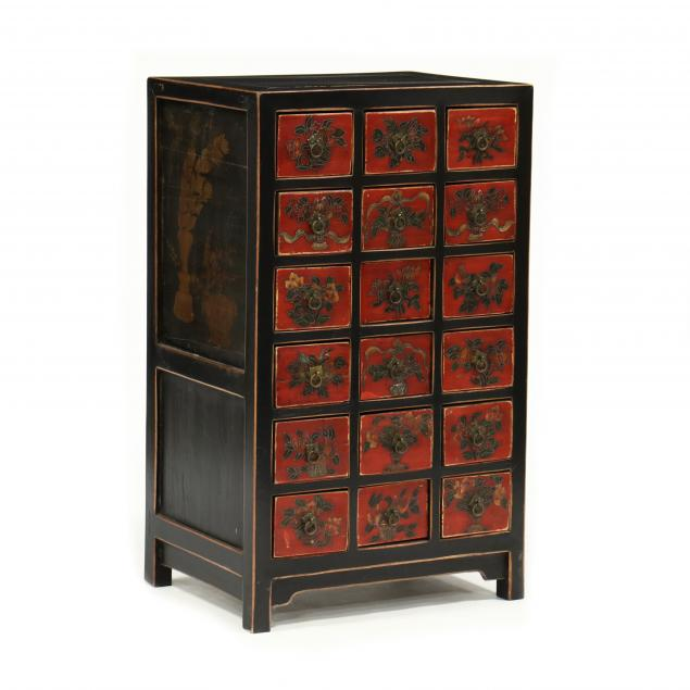 chinese-lacquered-eighteen-drawer-chest