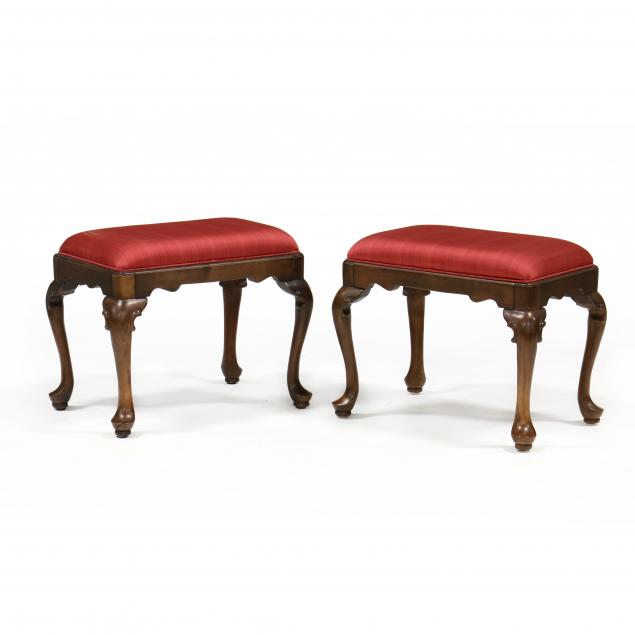 pair-of-queen-anne-style-cherry-ottomans