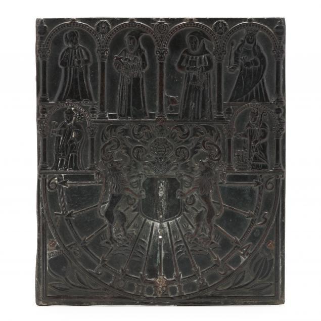 antique-english-figural-bronze-sun-dial