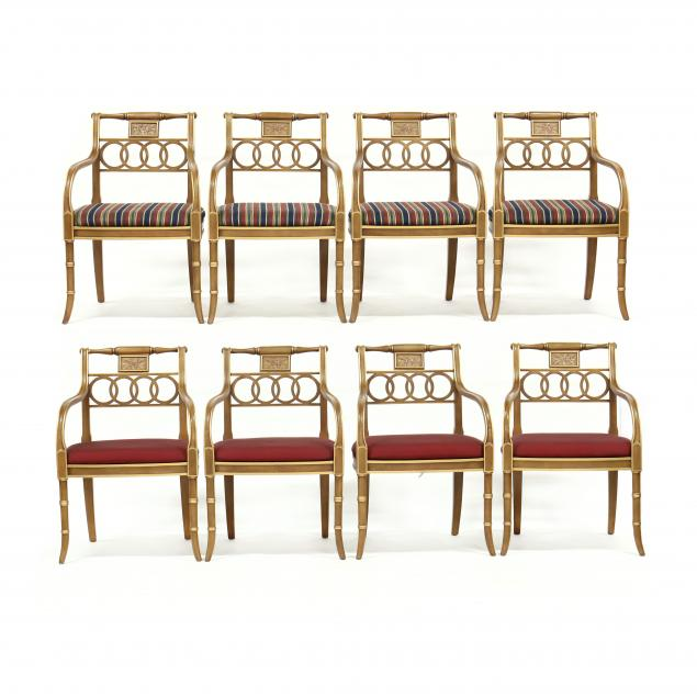 hickory-chair-set-of-eight-i-charleston-regency-i-dining-chairs