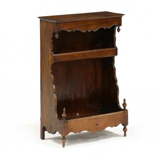antique-french-miniature-walnut-cabinet