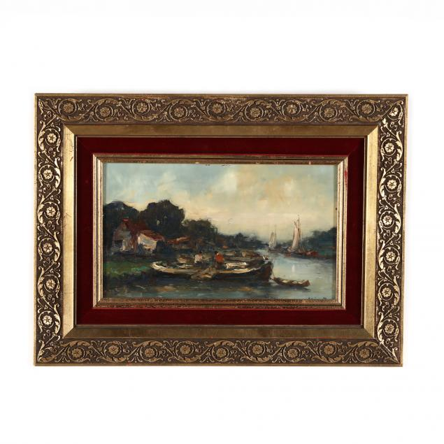 english-school-harbor-painting