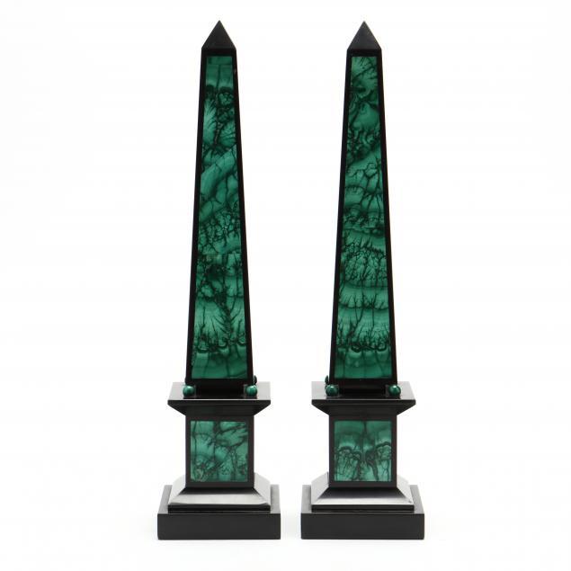 pair-of-malachite-and-slate-obelisks