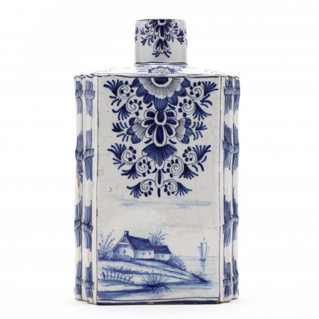 antique-delft-blue-and-white-tea-caddy
