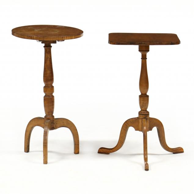 two-bench-made-federal-style-maple-stands