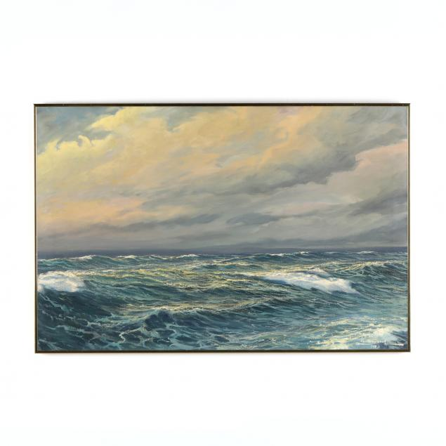carlos-perot-chilean-1919-2003-tranquil-seascape