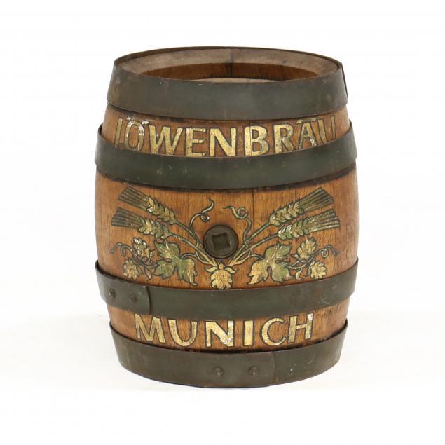 vintage-german-lowenbrau-oak-beer-keg
