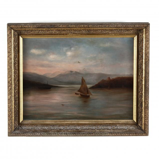 american-school-mid-20th-century-waterscape-with-sailboat