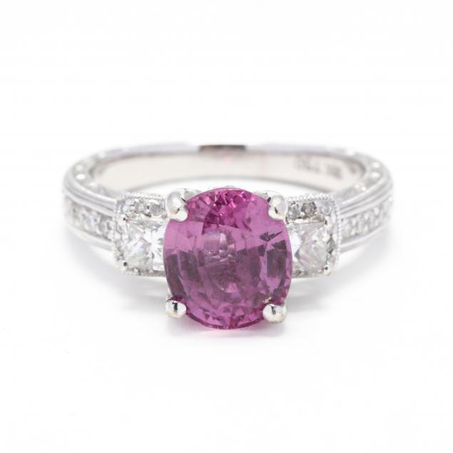 18kt-white-gold-pink-sapphire-and-diamond-ring