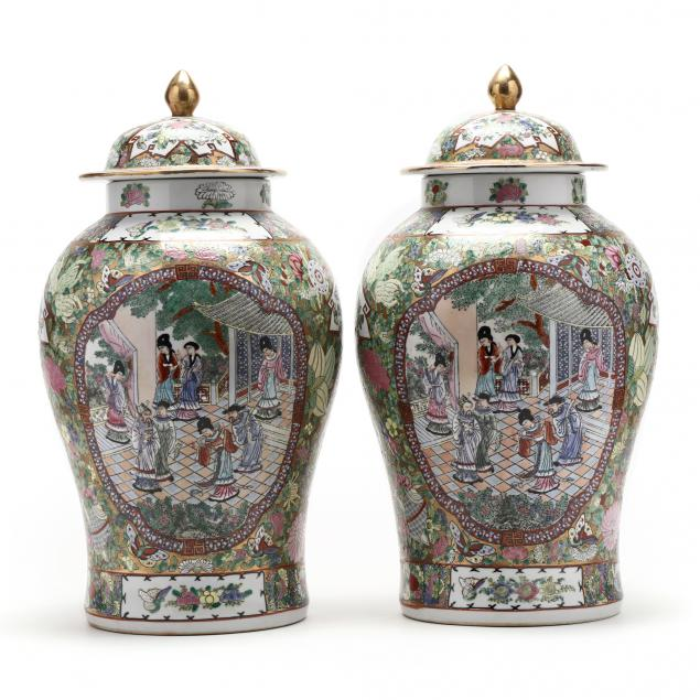 a-pair-of-porcelain-famille-rose-covered-temple-jars