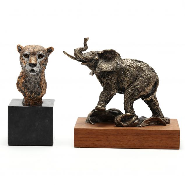 two-contemporary-sculptures-of-african-animals